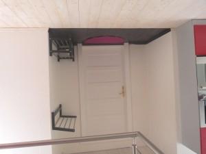 Vchodové dveře a předsíňka
