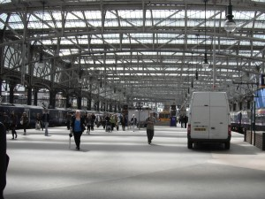 nádraží Glasgow