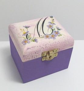 krabička na čaj jednokomorová
