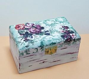 krabička na čaj dvoukomorová