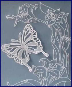 pergamano motýl