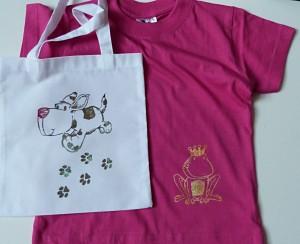 tričko a taška
